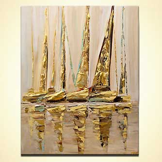 canvas print - Sail With Me