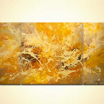 Abstract painting - Solar Warmth