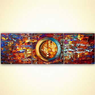 original colorful abstract painting