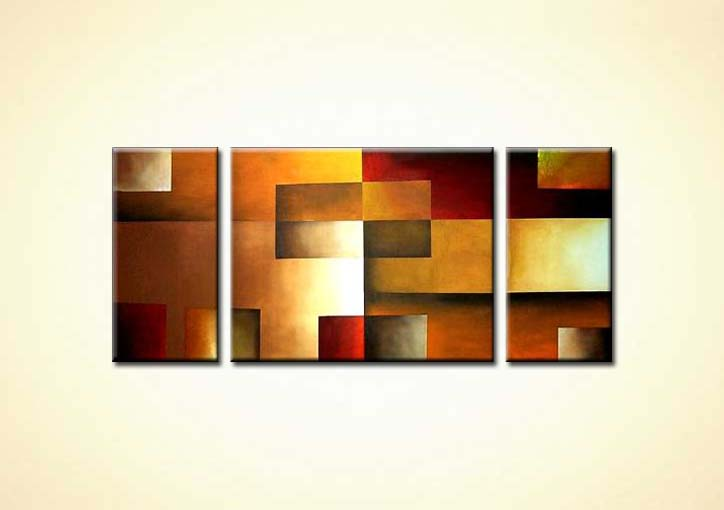 Painting For Sale Abstract Squares Painting 752