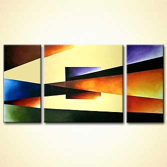 modern abstract art - Intensity