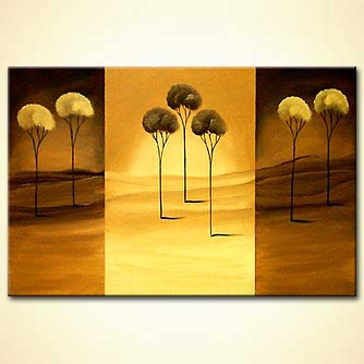modern abstract art - Desert Flower