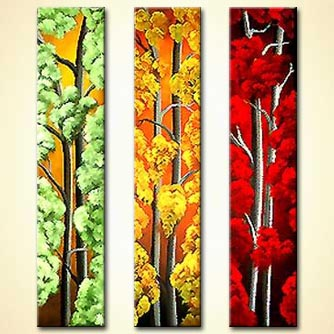 Forest painting - The Beautiful Seasons