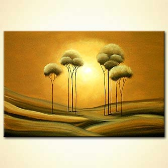 Landscape painting - Clear Dreams