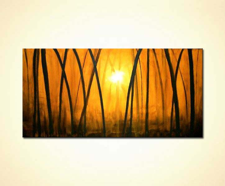 painting for sale golden forest 389