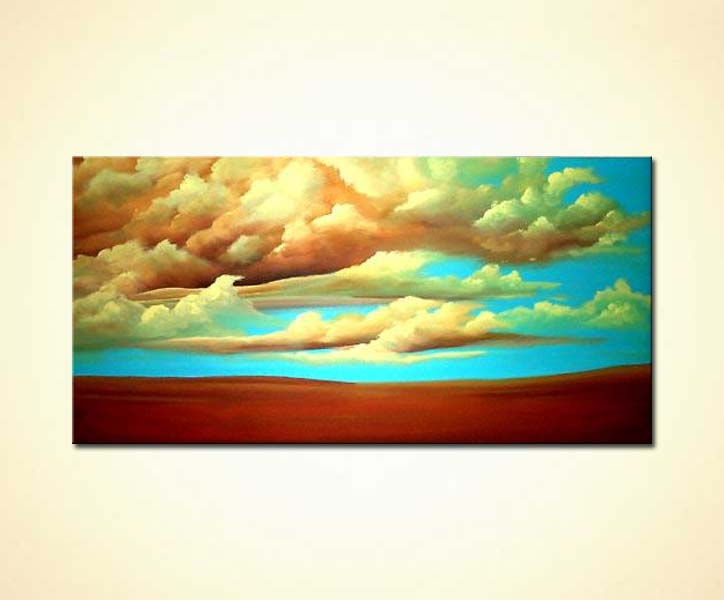 Painting Heaven Clouds Painting 698