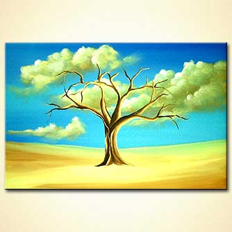 modern abstract art - The Giving Tree