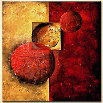 Abstract painting - Eclipse