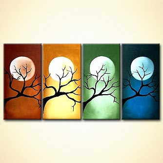 Landscape painting - Seasons