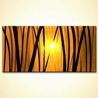 Landscape painting - The Golden Forest