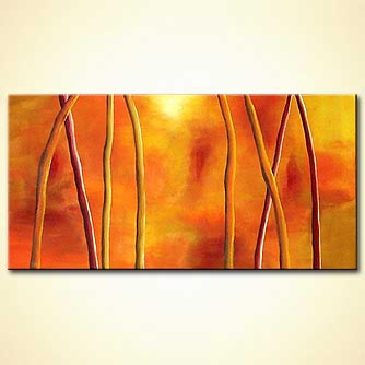 modern abstract art - Tropical Fantasy