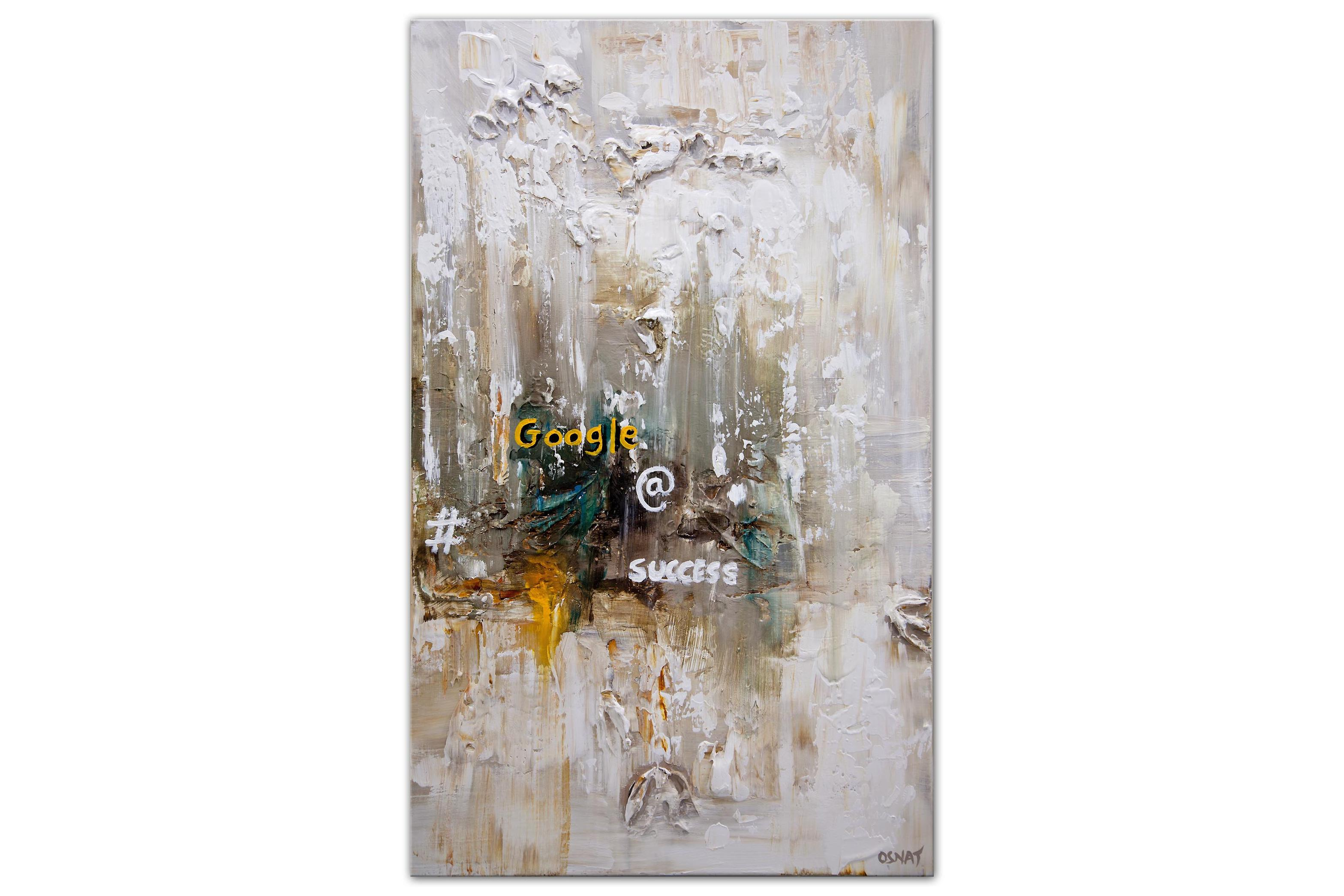 Inspirational abstract painting Success painting
