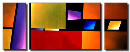 triptych planes of beauty canvas