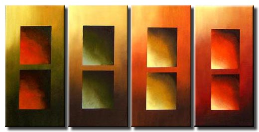 four canvases wall decor art