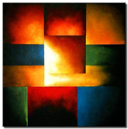 geometrical light square squares