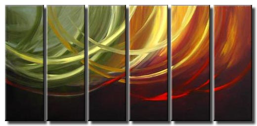 multi panel canvas art