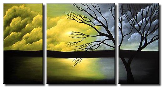 1 abstract landscape painting