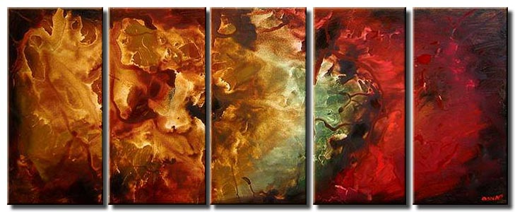 multi panel abstract