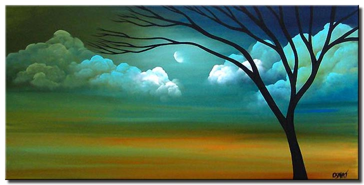 Painting For Sale Abstract Landscape Painting 3725