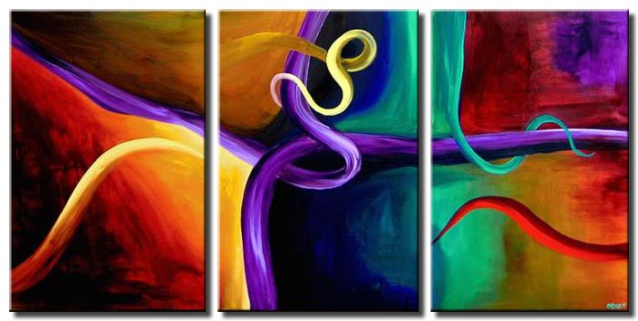 colorful painting sensual