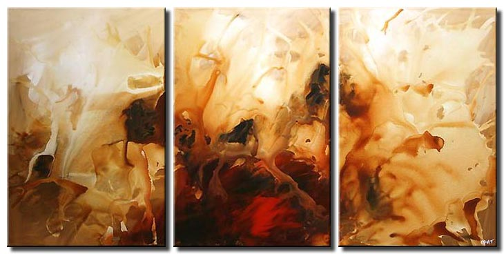abstract painting wall decor splash