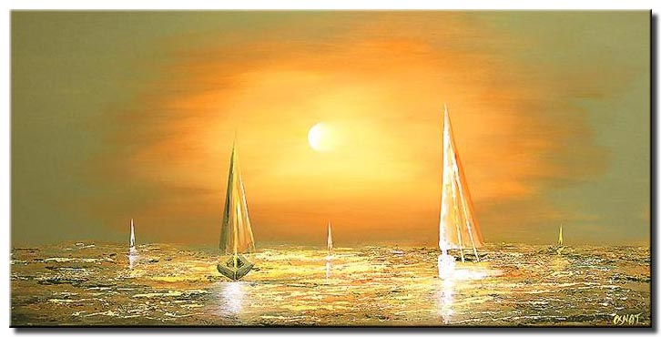 white winds sailing boats soft wall