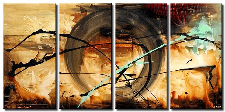 wheel of time modern painting multi panel