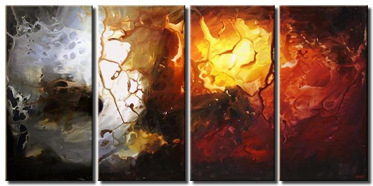 canvas art pearl shore multi panel