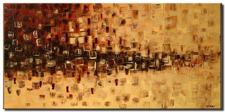 abstract home decor painting large
