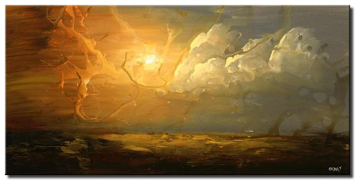 86df2bf93 Painting for sale - sun over cloudy sky large home decor spark #4935