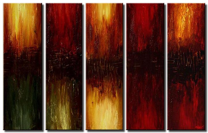 large home decor painting multi panel
