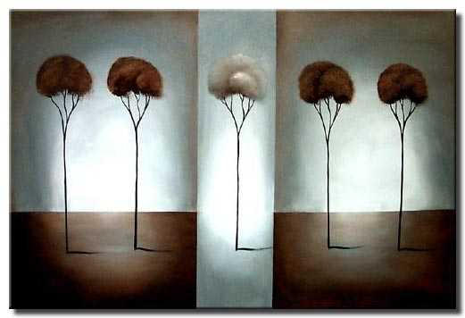singled tree painting