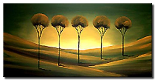 desert tree painting