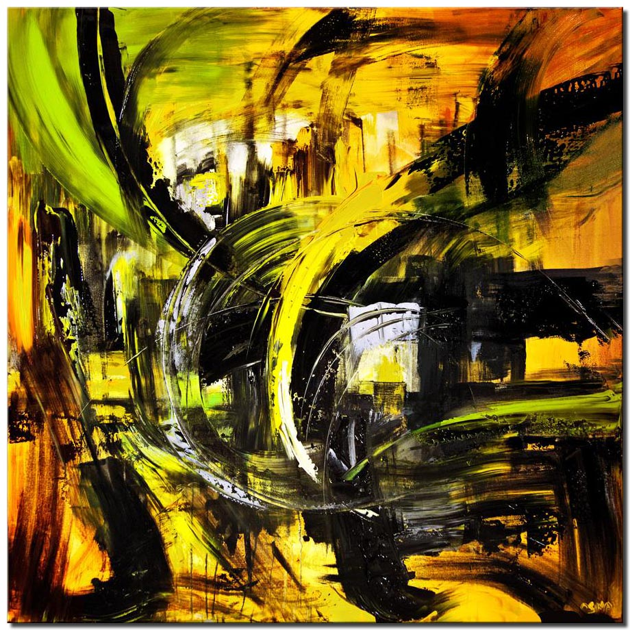 colorful comtemporary modern abstract art