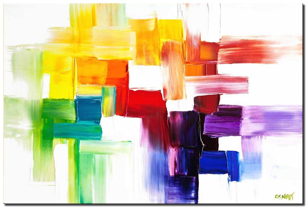 modern colorful abstract painting