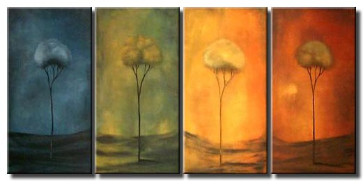 four panel canvas