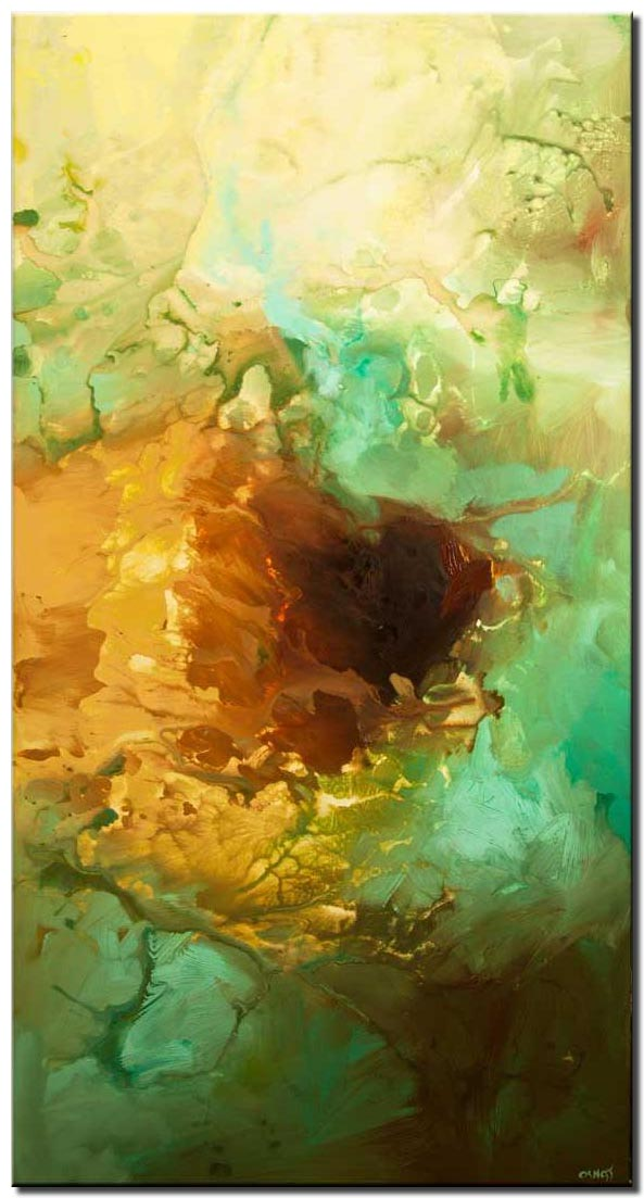 canvas print of big abstract art modern abstract painting