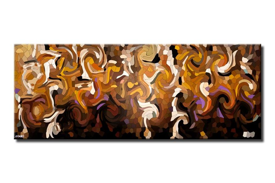 canvas print of brown Digital Art Giclee Print