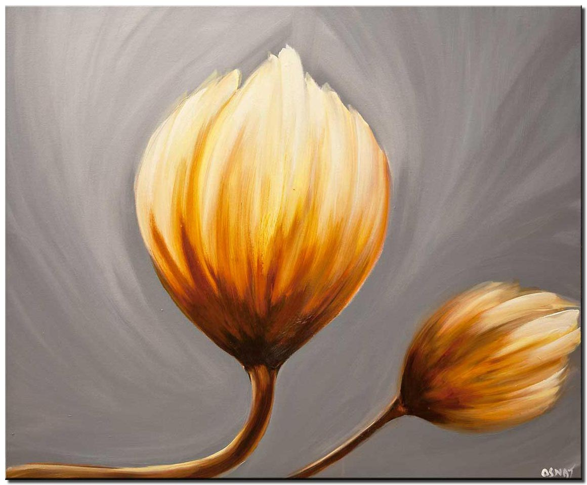 yellow tulips painting