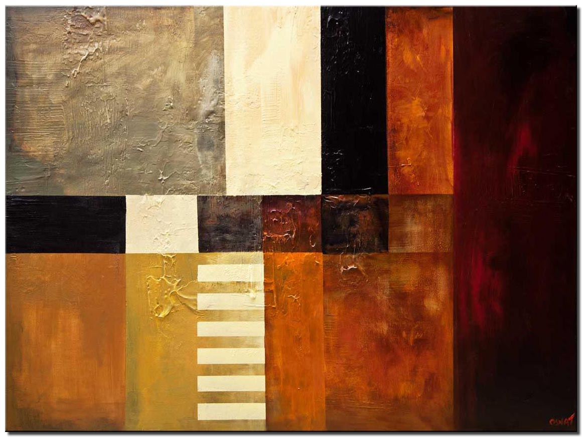 big modern abstract painting