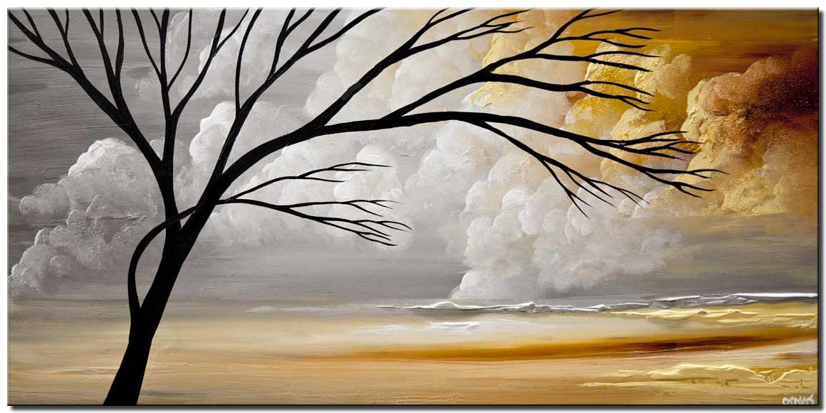 modern landscape painting abstract art