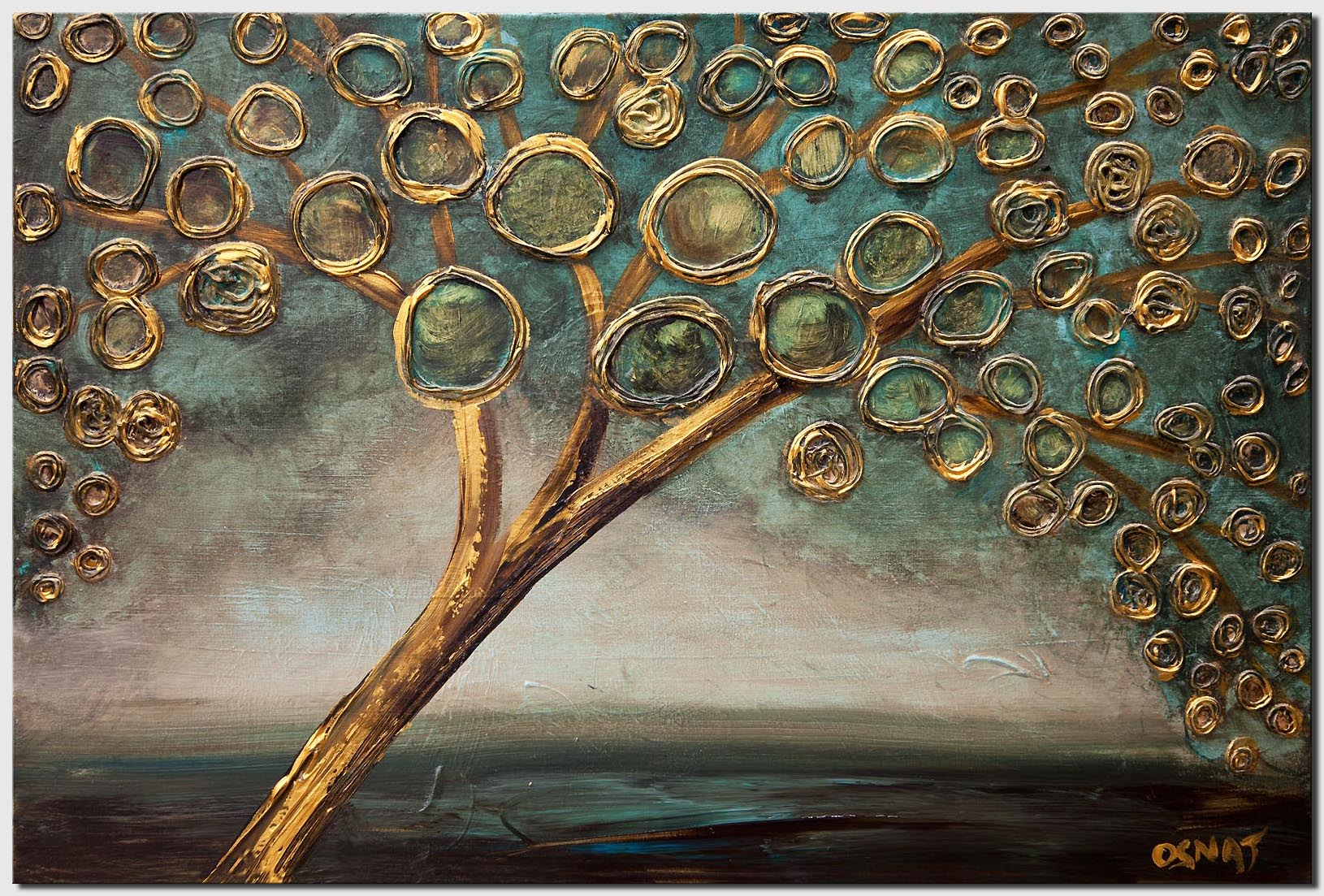 gold-teal-abstract-tree-painting