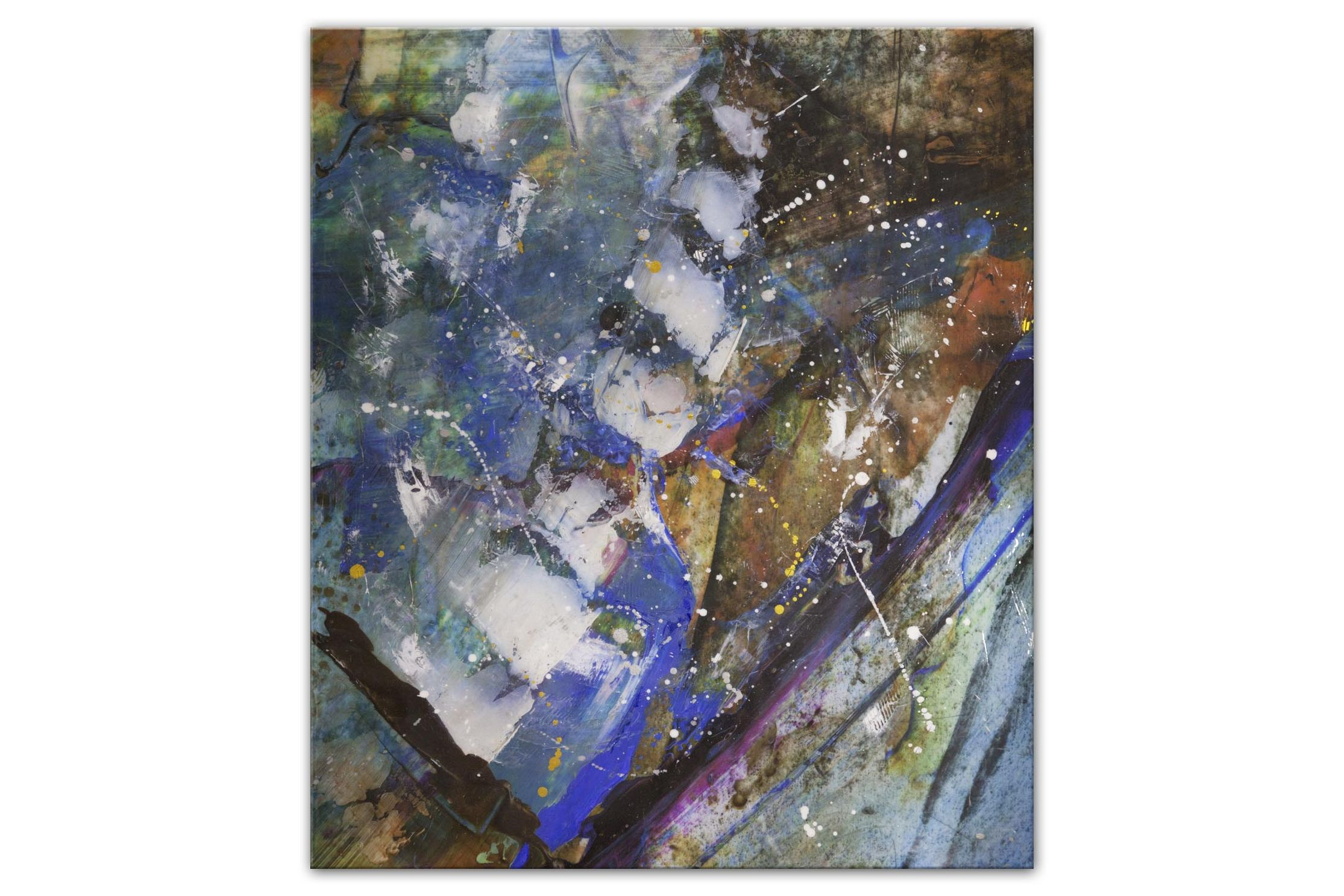 20-03-9820-Abstract and colorful print on large canvas