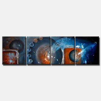 triptych canvas modern wall decor