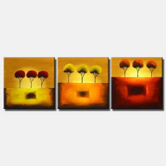 three steps to heaven abstract decor