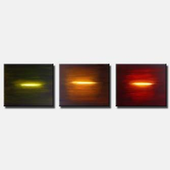 multi panel abstract wall decor