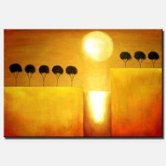moon light trees contemporary glow trees blooming art-deco home-decor