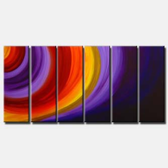 large abstract home decor