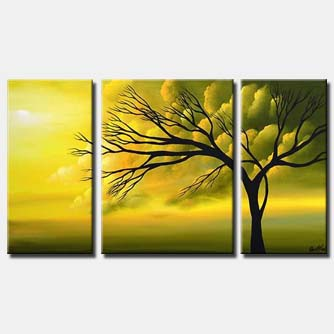 sunrise canvas landscape