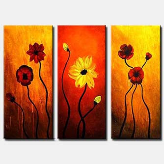 triptych floral